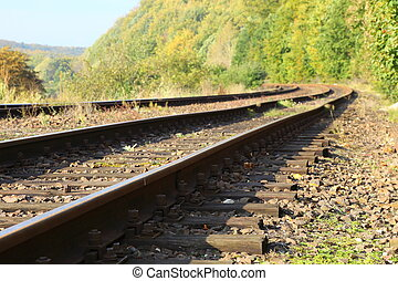 Rail Road Tracks - outdoor