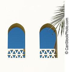 Arabian windows