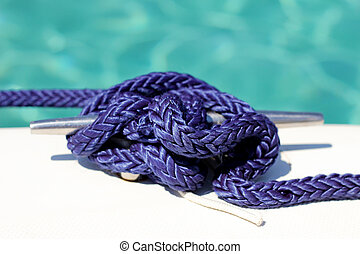 Knot on a boat