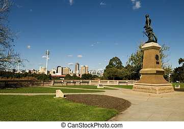 Adelaide - View of part of the adelaide skyline