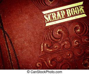 scrap book - close up scrap book cover