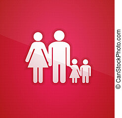 Family concept - Family. Vector illustration for your design