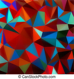 Polygon triangle abstract background. EPS 8 vector file...