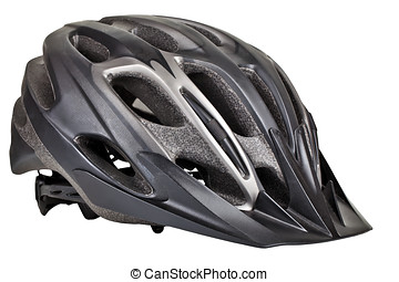 Cycling helmet - isolated image of a cycling helmet