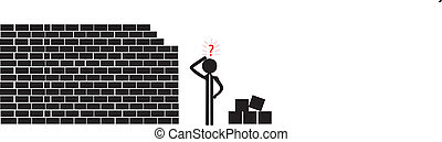 building a wall from rocks - building wall