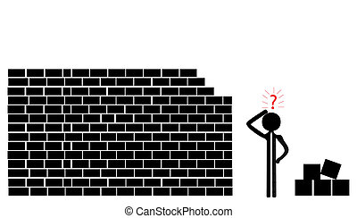 building a wall - problem with building a wall