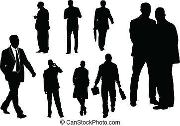 businessmen - vector