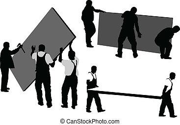 workers 4 - vector