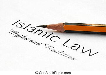 islamisch, Gesetz