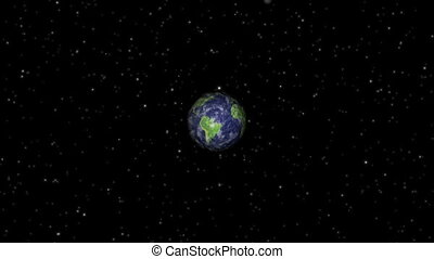 Zoom in to Earth