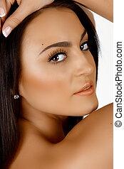 beautiful Italian woman