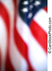 Abstract American Flag - Intentionally blurry American flag...