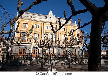 Square in Portugalete, Bizkaia, Spain