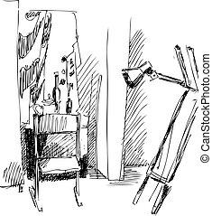 chair - a chair