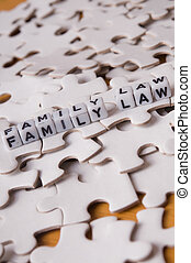 Family Law - Representation of the complexity of family law