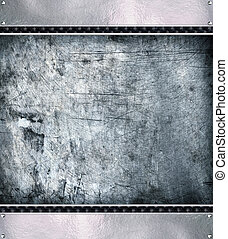 Metal plate steel backgroundHi res