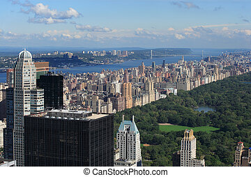 Central Park and Upper West Side - Photo of Central Park and...