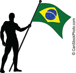 Brazilin Flag Bearer