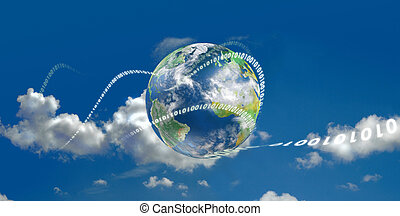 Cloud Computing Technological evolution - Illustrated with...