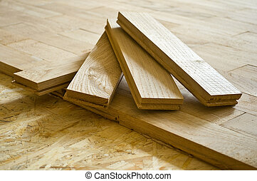 parquet boards, executed from an oak, by CU