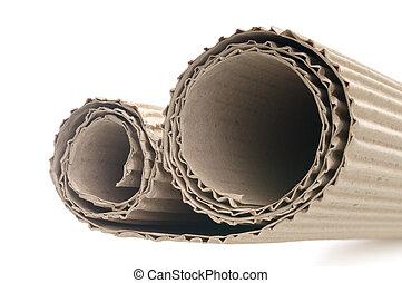 corrugated cardboard used in repair work