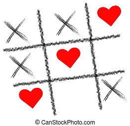 Tic Tac Toe played with love