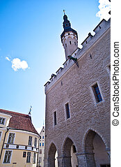Townhall - medieval townhall in the old town of Tallinn