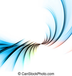 Fractal Abstract Vortex Layout - An abstract fractal design...