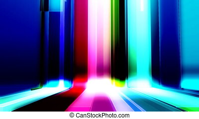 Bars Multicolor Looping Background - Looping Multicolor Bars...