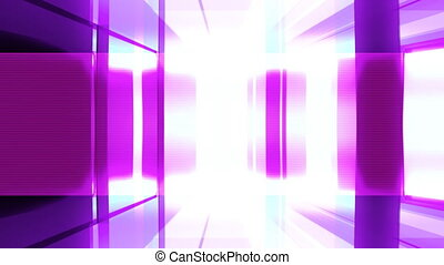 Abstract Bars Strobe Looping Animated Background