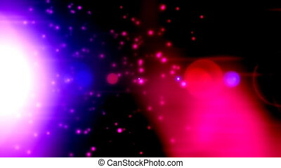 Mystic Abstract Looping Animated Background