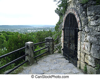 lLermontov's grotto. Pyatigorsk. Caucas - Lermontov's...