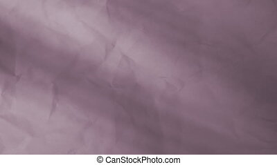 Wrinkled Paper Soft Abstract Looping Background