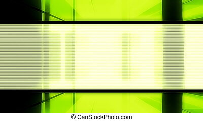 Digital Green Abstract Loop