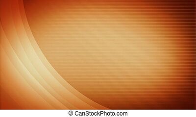 Soft Orange Looping Background - Text Friendly Soft and...