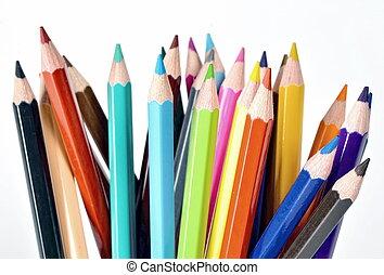 Creative Color Pencil Background