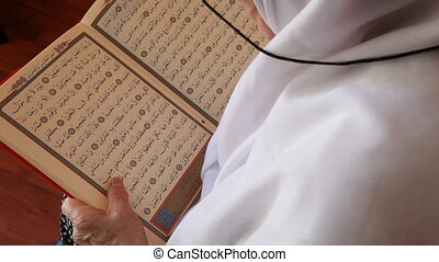 muslim woman 3 - Muslim women read the Quran, shoot Canon 5D...