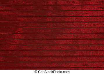 Red velvet background - Red striped velvet , as background