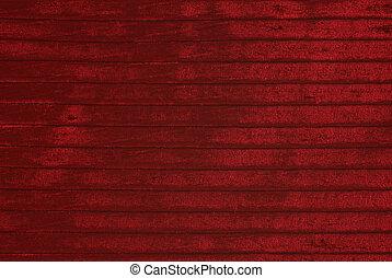Red velvet background  - Red striped velvet , as background