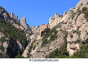 Montserrat monastery Catalonia, Spain - Montserrat monastery...