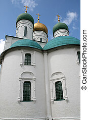 Uspensky cathedral in Kolomna Russia