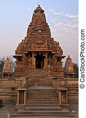 Hindu temple, built by Chandela Rajputs - Beautifully...