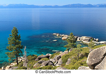 Lake Tahoe - kayak on Lake Tahoe