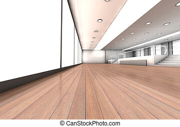 Empty Office - A empty office Architectural visualisation 3D...