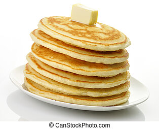 pancakes with butter