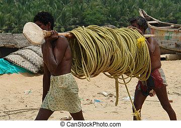 indio, pescadores
