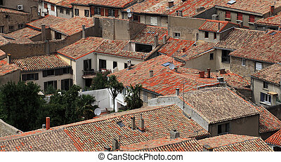 Roofs of Carcassonne