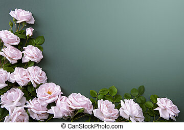 Art flower Background for greeting card - flower Background...