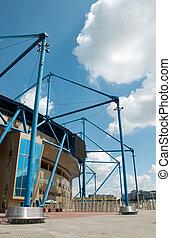 Metalist Stadium, Kharkov, Ukraine. The stadium hosts...