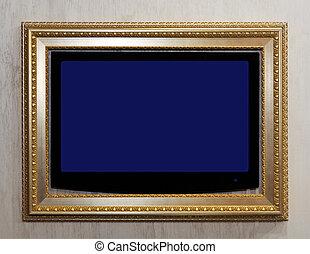 TV in frame